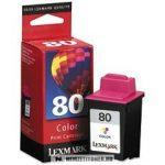 Lexmark 12A1980E színes #No.80 tintapatron | eredeti termék