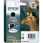 Epson T1301 Bk fekete tintapatron /C13T13014010, C13T13014012/, 25,4 ml | eredeti termék