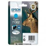 Epson T1302 C ciánkék tintapatron /C13T13024010, C13T13024012/, 10,1 ml | eredeti termék