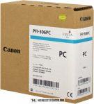 Canon PFI-306 PC fényes ciánkék tintapatron /6661B001/, 330 ml | eredeti termék