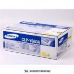 Samsung CLP-610, 660 Y sárga toner /CLP-Y660A/ELS/, 2.000 oldal   eredeti termék
