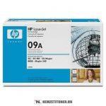 HP C3909A - 09A - fekete toner, 15.000 oldal | eredeti termék