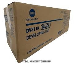 Konica Minolta Bizhub C220, C280 Bk fekete developer /A0XV03D, DV-311K/, 600.000 oldal   eredeti termék