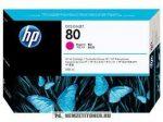 HP C4847A M magenta #No.80 nagykapacitású tintapatron, 350 ml | eredeti termék