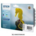 Epson T048740BA multipack (Bk,C,M,Y,LC,LM) tintapatron, 7x13 ml | eredeti termék