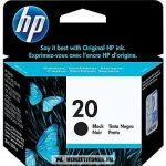 HP C6614DE Bk fekete #No.20 tintapatron, 28 ml | eredeti termék