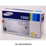 Samsung CLP-310, 315 Y sárga toner /CLT-Y4092S/ELS/, 1.000 oldal   eredeti termék