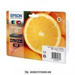 Epson T3337 Bk,C,M,Y,PBk multipack tintapatron /C13T33374010, 33/, 6,4 ml+4x4,5 ml | eredeti termék