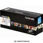 Lexmark C540 Y sárga developer /C540X34G/, 30.000 oldal   eredeti termék