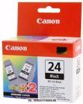Canon BCI-24 Bk fekete DUPLA tintapatron /6881A009/, 2x9 ml | eredeti termék