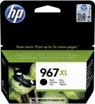 HP 3JA31AE Bk fekete #No.967XL tintapatron, 68,72 ml | eredeti termék
