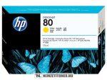 HP C4873A Y sárga #No.80 tintapatron, 175 ml | eredeti termék