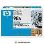 HP 92298A - 98A - fekete toner, 6.800 oldal | eredeti termék