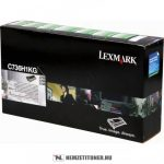 Lexmark C736, X736, X738 Bk fekete toner /C736H1KG/, 12.000 oldal   eredeti termék