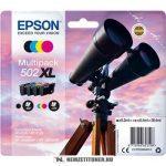 Epson T02W6 Bk,C,M,Y multipack tintapatron /C13T02W64010, 502XL/, 9,2 ml+3x6,4 ml | eredeti termék