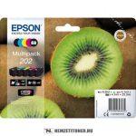 Epson T02E7 Bk, PBk, C,M,Y multipack /C13T02E74010, 202/, 1x6,9 ml + 4x4,1 ml | eredeti termék
