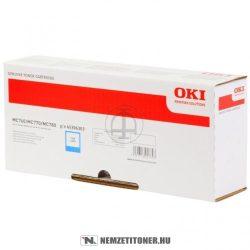 OKI MC760, MC770, MC780 C ciánkék toner /45396303/, 6.000 oldal | eredeti termék