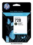 HP F9J64A MBk matt fekete  #No.728 tintapatron, 40 ml | eredeti termék
