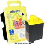 Olivetti JP 150 Bk fekete tintapatron /FPJ22, B0042/, 18 ml | eredeti termék