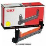 OKI C9300, C9500 Y sárga dobegység /41963405, TYPE C5/, 30.000 oldal | eredeti termék