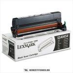 Lexmark C1200 Bk fekete toner /12A1454/, 6.500 oldal | eredeti termék