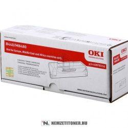 OKI B440, MB480 XL toner /43979216/, 12.000 oldal | eredeti termék