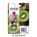 Epson T02H3 M magenta tintapatron /C13T02H34010, 202XL/, 8,5 ml | eredeti termék