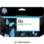 HP F9J98A PBk fotó fekete  #No.745 tintapatron, 130 ml | eredeti termék