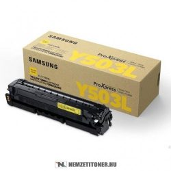 Samsung ProXpress C3000 Y sárga toner /CLT-Y503L/ELS/, 5.000 oldal   eredeti termék