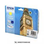 Epson T7034 Y sárga tintapatron /C13T70344010/, 9,6 ml | eredeti termék
