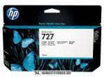 HP B3P23A PBk fotó fekete #No.727 tintapatron, 130 ml | eredeti termék