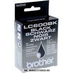 Brother LC-600 Bk fekete tintapatron | eredeti termék