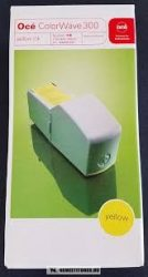 OCÉ ColorWave 300 Y sárga tintapatron /106.008.9326/, 180 ml | eredeti termék