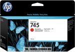 HP F9K00A ChR króm vörös #No.745 tintapatron, 130 ml | eredeti termék