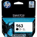 HP 3JA26AE Bk fekete #No.963 tintapatron, 24 ml   eredeti termék