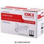 OKI C5600, C5700 Bk fekete dobegység /43381708/, 20.000 oldal | eredeti termék