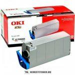 OKI C7100, C7300 Bk fekete toner /41963008/, 10.000 oldal | eredeti termék