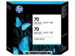 HP CB340A PBk fotó fekete #No.70 -2db tintapatron, 130 ml | eredeti termék