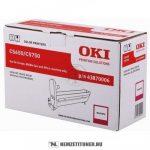 OKI C5650, C5750 M magenta dobegység /43870006/, 20.000 oldal | eredeti termék