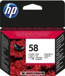 HP C6658AE PhCol fotó színes #No.58 tintapatron, 17 ml | eredeti termék