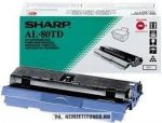 Sharp AL-80 TD toner, 3.000 oldal | eredeti termék