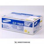 Samsung CLP-610, 660 Y sárga XL toner /CLP-Y660B/ELS/, 5.000 oldal   eredeti termék