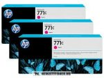 HP B6Y33A M magenta 3db #No.771C tintapatron, 3x775 ml | eredeti termék