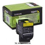 Lexmark CS 310, CS 410, CS 510 Bk fekete toner /70C20K0, 702K/, 1.000 oldal | eredeti termék