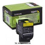 Lexmark CS 310, CS 410, CS 510 Bk fekete toner /70C20K0, 702K/, 1.000 oldal   eredeti termék