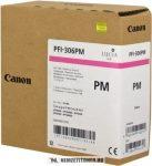 Canon PFI-306 PM fényes M magenta tintapatron /6662B001/, 330 ml | eredeti termék