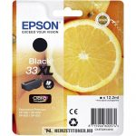 Epson T3351 XL Bk fekete tintapatron /C13T33514010, 33XL/, 12,2 ml   eredeti termék
