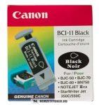 Canon BCI-11 Bk fekete tintapatron /0957A002/, 2 ml   eredeti termék