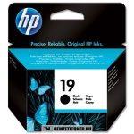 HP C6628AE Bk fekete #No.19 tintapatron, 30 ml | eredeti termék