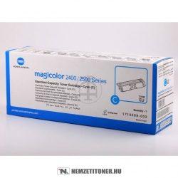 Konica Minolta MagiColor 2400 C ciánkék toner /A00W331, 171-0589-003/, 1.500 oldal   eredeti termék